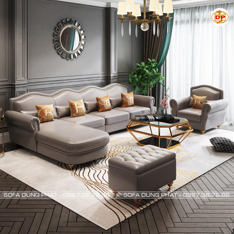 ghế Sofa Nhập Khẩu Cao Cấp Da Hàn Quốc Bóng Mịn DP-CC55