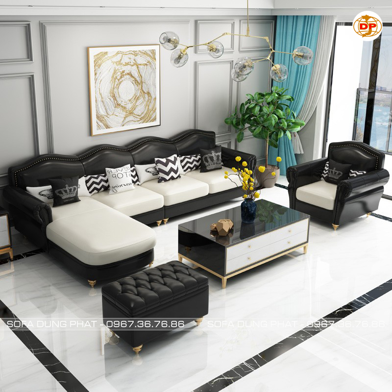 mua Sofa Nhập Khẩu Cao Cấp Da Hàn Quốc Bóng Mịn DP-CC55