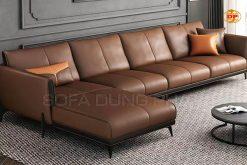 Sofa Bọc Da Nhập Khẩu Cao Cấp DP-CC54