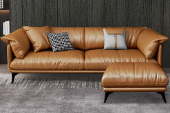 sofa phòng khách da hàn quốc cao cấp