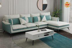 sofa góc vải bố cao cấp thoáng mát