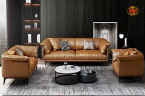 Sofa Phòng Khách Bọc Da Hàn Quốc Sang Trọng DP-PK39