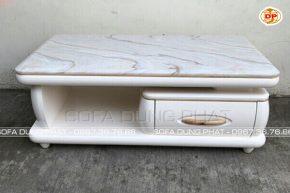 Bàn Sofa Phòng Khách Đẹp Có Vân Đá Nổi Bật DP-BS20
