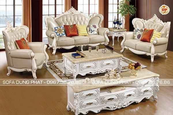 Sofa Cổ Điển Thiết Kế Cánh Bướm Đẹp Trẻ Trung DP-CD50