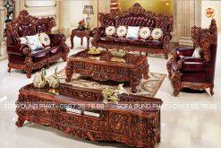 Bộ Ghế Sofa Phong Cách Cổ Điển Hoàng Tộc DP-CD62
