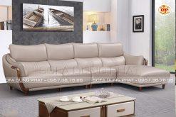 Sofa Da Cao Cấp Cho Phòng Khách Đẹp Đẳng Cấp DP-CC69