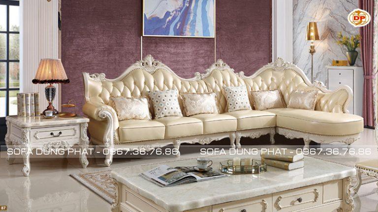 ghế sofa cỏ điển đẹp tại Bình Chánh