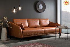 sofa băng chất da