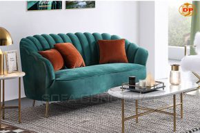 Ghế Sofa Băng Nhung Êm Mịn Màu Xanh Dịu Mát DP-B45