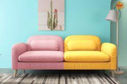 Sofa Băng Đôi Thiết Kế Nhỏ Gọn Màu Sắc Tươi Trẻ DP-B46