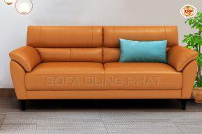 Sofa Băng Chất Liệu Da Bóng Mịn Sắc Màu Tươi Trẻ DP-B53