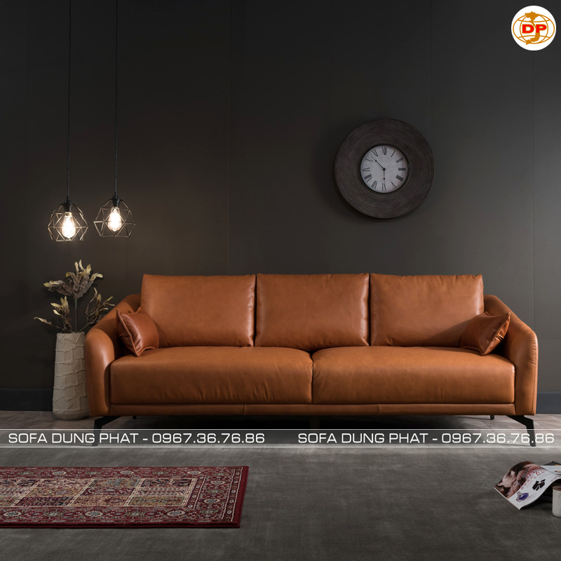 Sofa Băng Chất Da Cao Cấp Bóng Mịn DP-B48