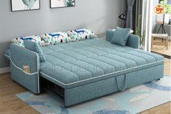 Sofa Giường Vải Bố Có Viền Ghế Đẹp Nổi Bật DP-GK44