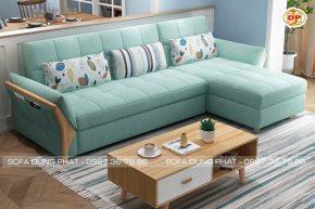 Sofa Góc Vải Bố Êm Ái Sắc Màu Trang Nhã DP-G35