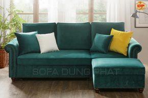 Sofa Phòng Khách Đính Hạt Viền Ghế Đẹp Tinh Tế DP-PK40