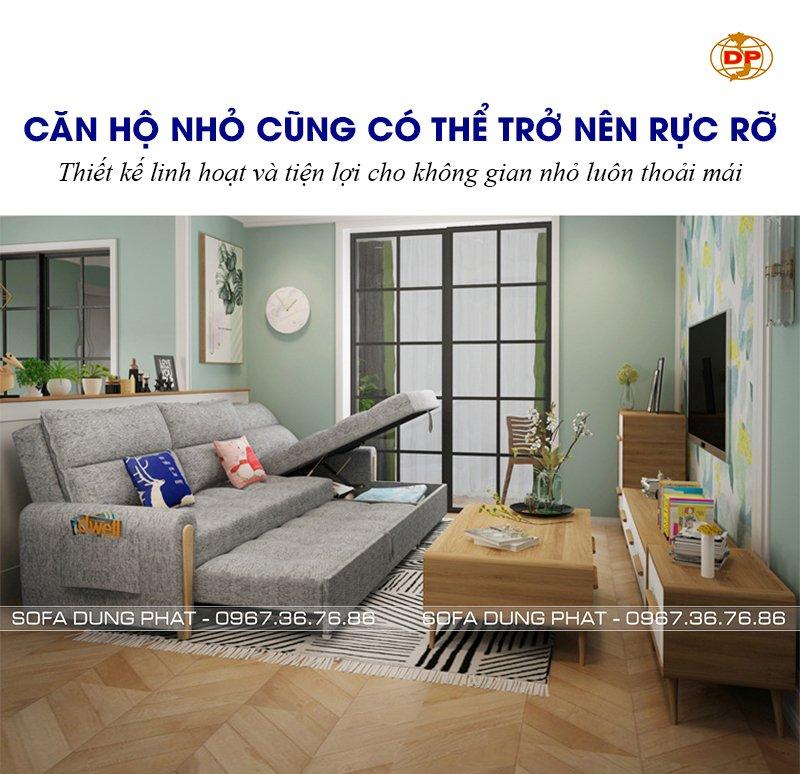 sofa giường dạng kéo