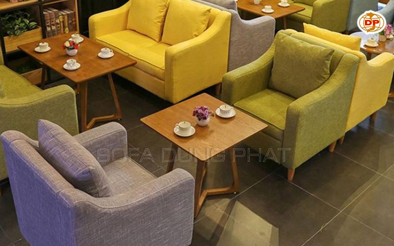 sofa café Bình Chánh đẹp