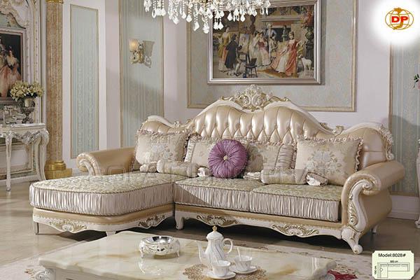 mẫu sofa cổ điển Quận 1 hình chữ L cho phòng khách