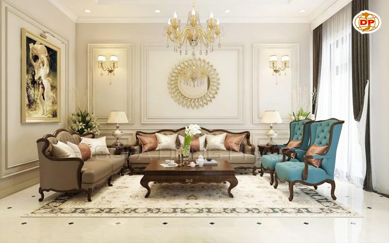 sofa cổ điển Quận 5 đẹp