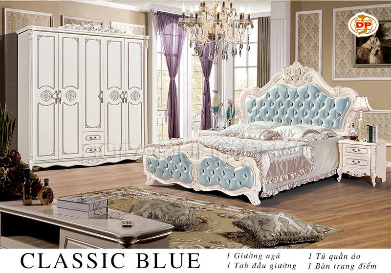 Combo Phòng Ngủ Classic Blue đẹp