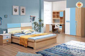 Combo Phòng Ngủ White & Blue