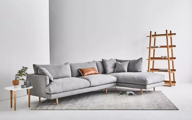 mẫu sofa phòng khách Bắc Âu
