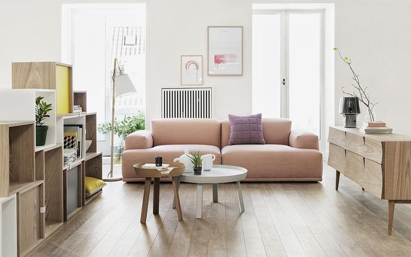 sofa phòng khách Bắc Âu tiện nghi