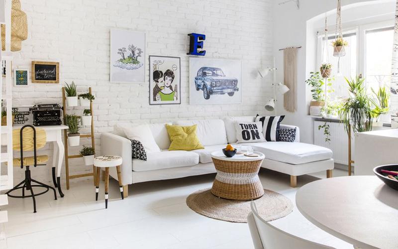 mua sofa giá rẻ trang trí phòng khách