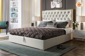 Giường Ngủ Họa Tiết Nút Thắt Cổ Điển DP-GN50