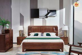 Giường Ngủ Gỗ Bền Chắc Đẹp Bóng Mịn DP-GN56