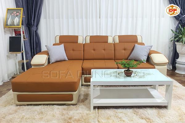 Sofa Cao Cấp Mẫu Mới Bọc Da Sang Trọng DP-CC51