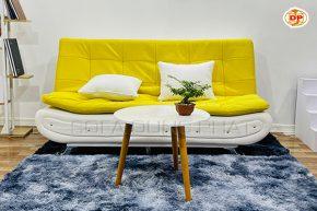 Sofa Giường Đầu Bật Thiết Kế Đinh Tán Ấn Tượng DP-GB19