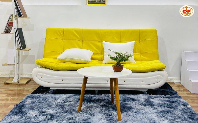 Ghế Sofa Giường Đầu Bật Thiết Kế Đinh Tán Ấn Tượng DP-GB19