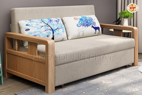 Sofa Giường Nhập Khẩu Gỗ Đẹp Mộc Mạc DP-GK52