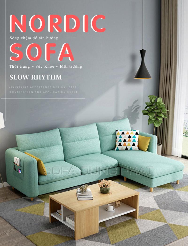 Sofa Góc Kiến Tạo Không Gian Sống Đẹp DP-G41 giá rẻ