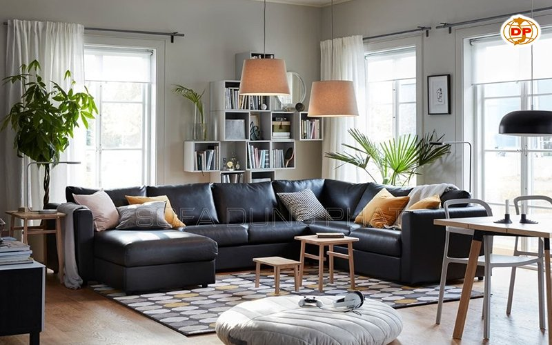 mua sofa màu đen