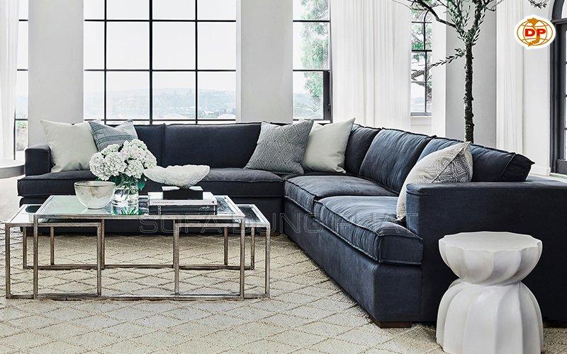 lựa chọn sofa màu đen