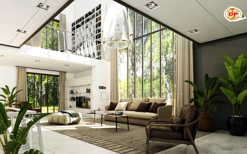 ghế sofa cho phòng khách không gian mở