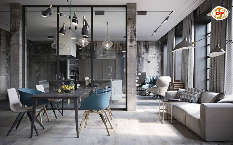 mua ghế sofa giá rẻ cho phòng khách không gian mở