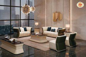 Bộ Sofa Nhập Khẩu Cho Phòng Khách Đẹp Quyến Rũ DP-NK46