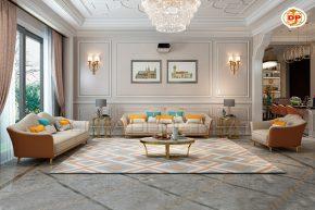 Bộ Sofa Nhập Khẩu Mang Vẻ Đẹp Dịu Dàng Cho Phòng Khách DP-NK50