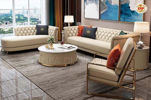 Bộ Sofa Nhập Khẩu Kết Hợp Sofa Thư Giãn Tiện Lợi DP-NK55