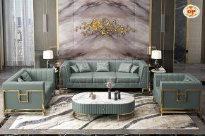 Bộ Sofa Nhập Khẩu Phòng Khách Gợi Nhớ Vẻ Đẹp Xưa DP-NK56