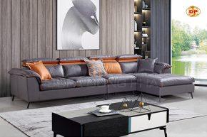 Sofa Nhập Khẩu Bọc Da Hai Màu Phong Cách DP-NK110