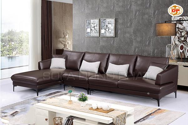 Sofa Nhập Khẩu Sắc Nâu Trầm Ấm, Bình Yên DP-NK118