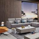 Sofa Nhập Khẩu Bọc Nỉ Thiết Kế Góc Sang Trọng, Tiện Nghi DP-NK122