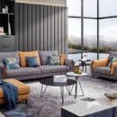 Sofa Nhập Khẩu Dạng Kết Hợp Tiện Nghi, Đẹp Hiện Đại DP-NK124