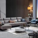 Sofa Nhập Khẩu Dạng Góc Cho Không Gian Thoáng Rộng DP-NK125