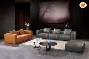 Bộ Sofa Nhập Khẩu Thiết Kế Dạng Khối Đẹp Hiện Đại DP-NK80